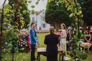 Pitcalzean House Wedding Ceremony