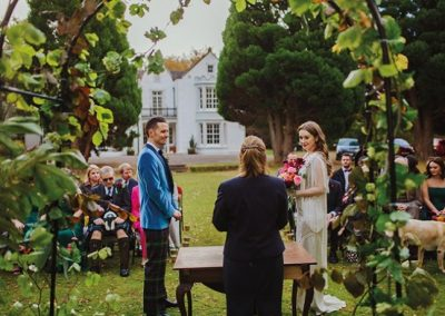 Pitcalzean House Wedding Ceremony