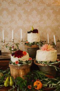 Pitcalzean House Wedding Cake