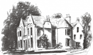 Pitcalzean House sketch