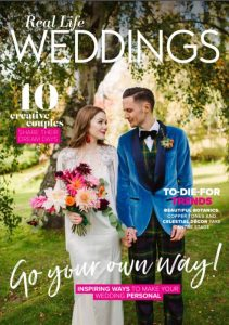 Pitcalzean House featured in real life weddings magazine